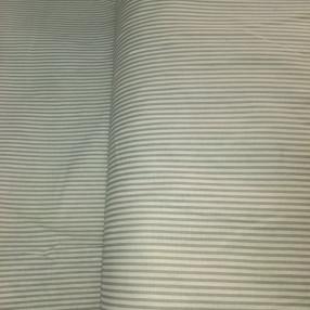 Бязь модная. Серо-белая полоса узкая