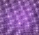 Бязь Ranforce белый горох на темно-фиолетовом фоне мелкий