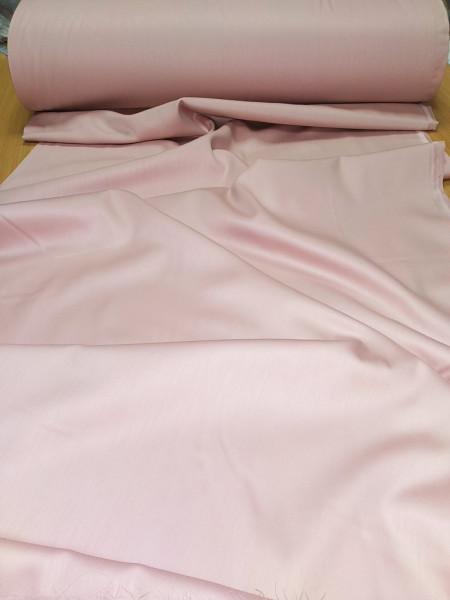 Сатин. Гладкокрашенный пыльно-розовый светлый Р-01