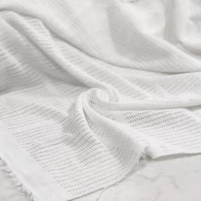 Филейное полотно. Цвет белый