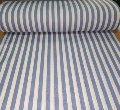 Бязь Ranforce полоса широкая цвет пыльно-синий