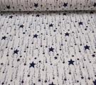 Бязь Ranforce звездная дорожка цвет темно-синий