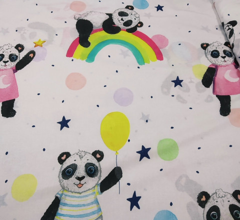 Поплин. Добрые панды
