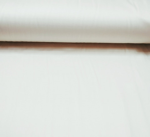 Сатин. Гладкокрашенный Молочный М-01