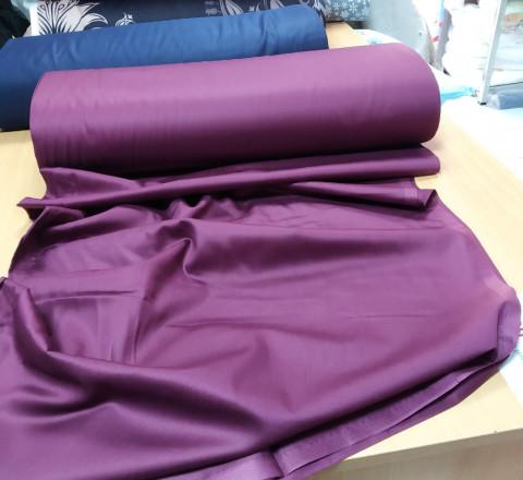Сатин. Гладкокрашенный фиолетовый Ф-02